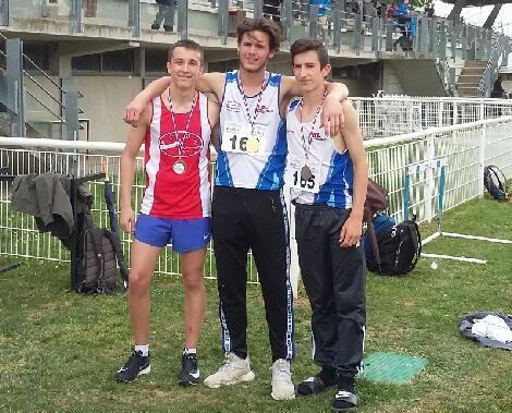 7 podiums dont 4 titres aux Championnats du Rhone de Combinées