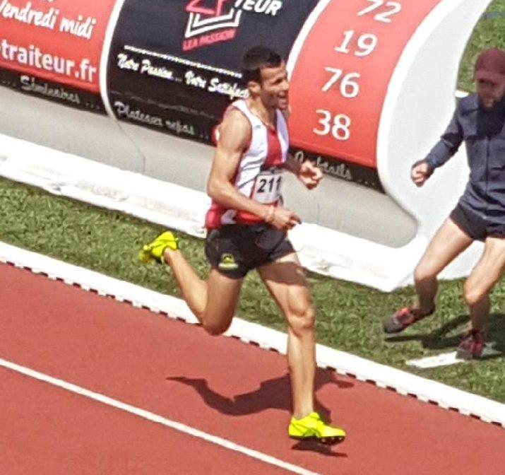 Maxence Bruyas vainqueur à Tassin avec les minima pour le France Elite