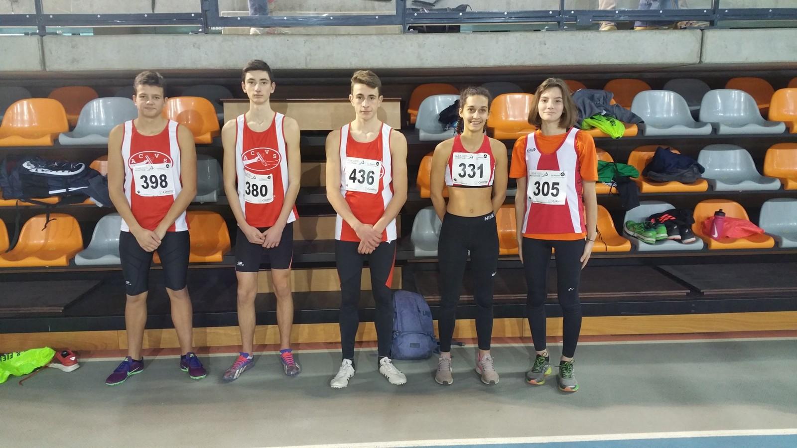 Finale régionale Triathlon Minimes en Salle
