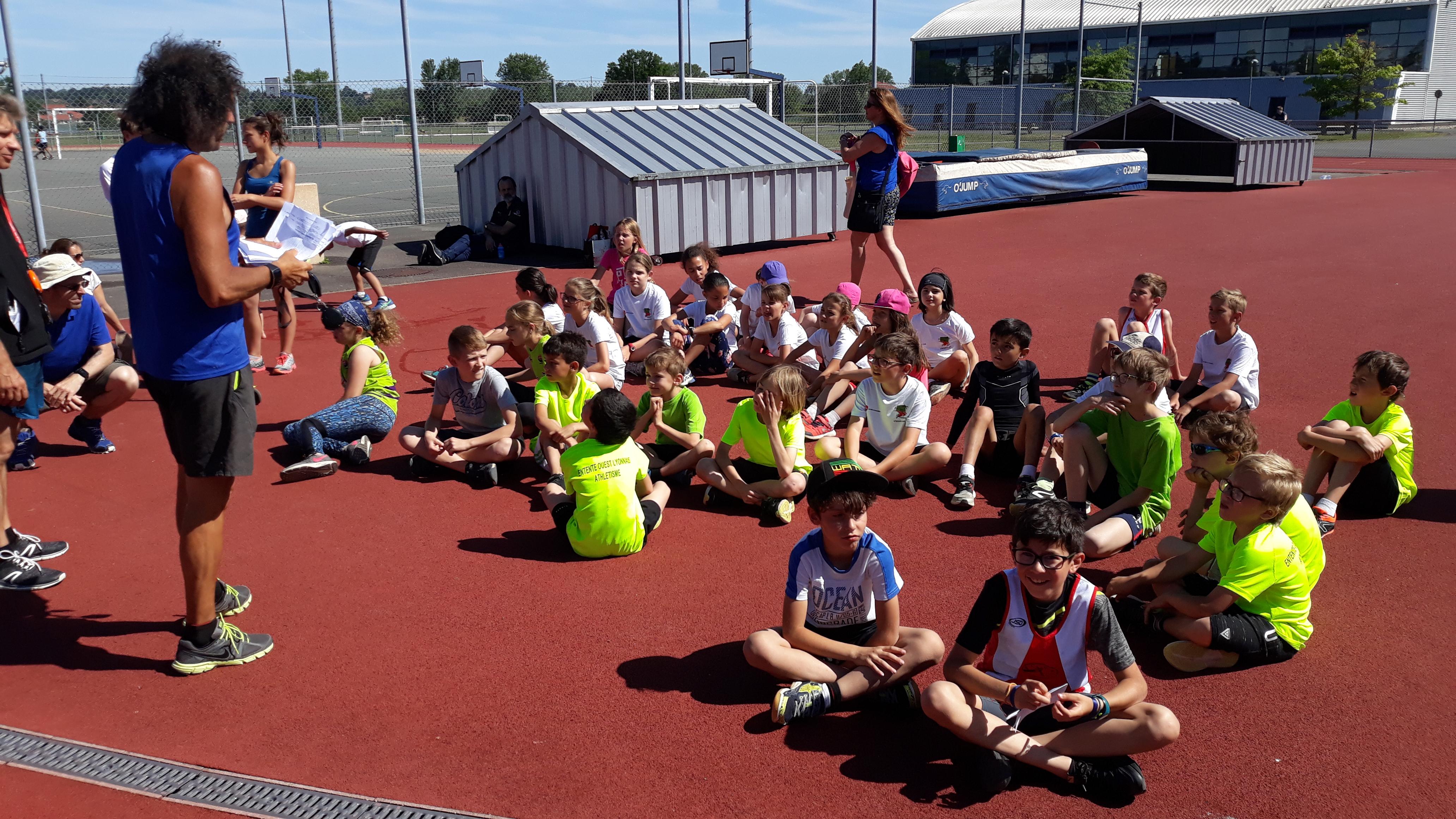 Bonne compétition des jeunes pousses hier à Belleville