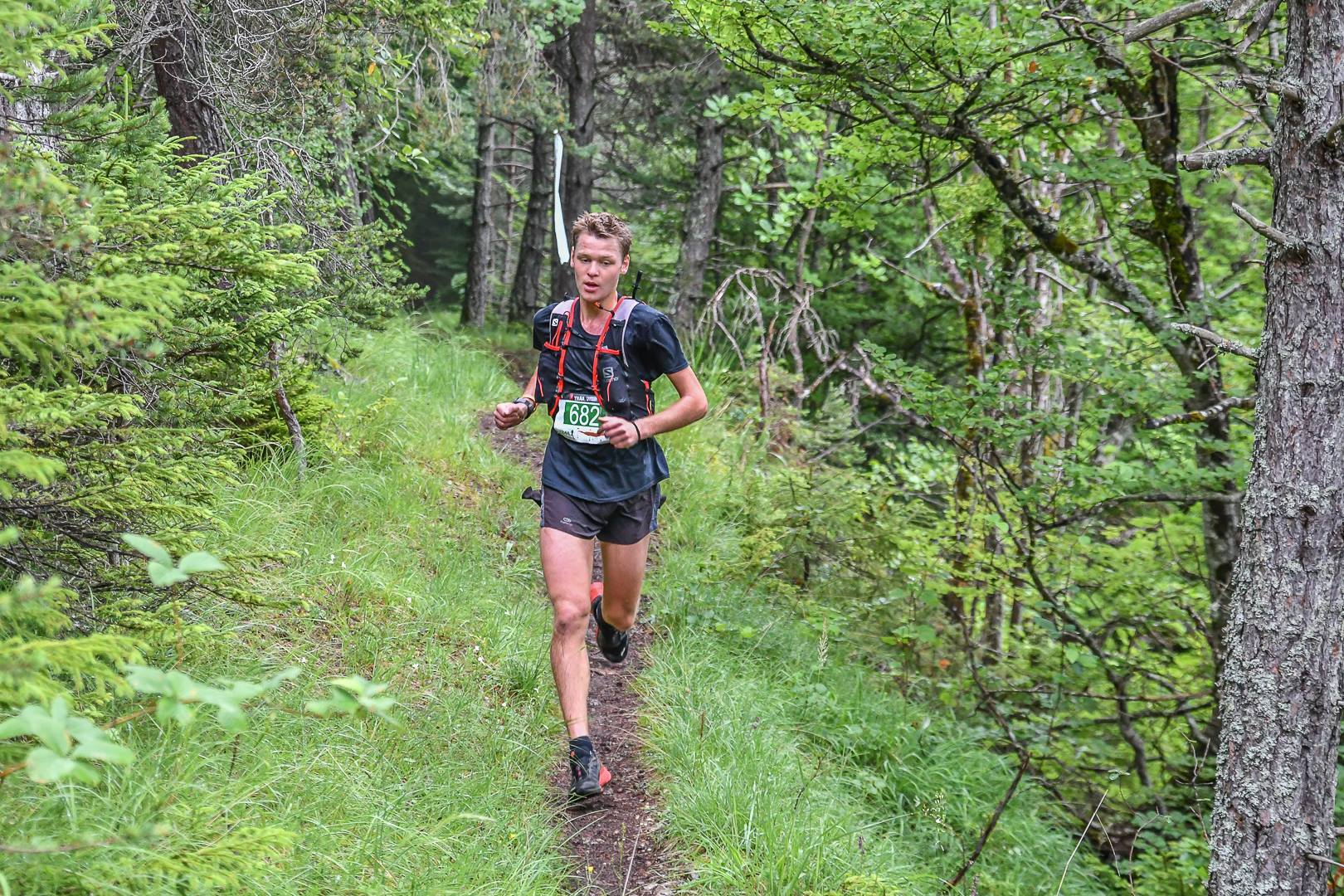 Baptiste Chassagne médaille de Bronze au France de Trail