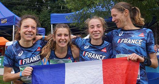 Exploit : L'équipe de France Championne du Monde de Montagne avec la 7e place d'Anaïs Sabrie