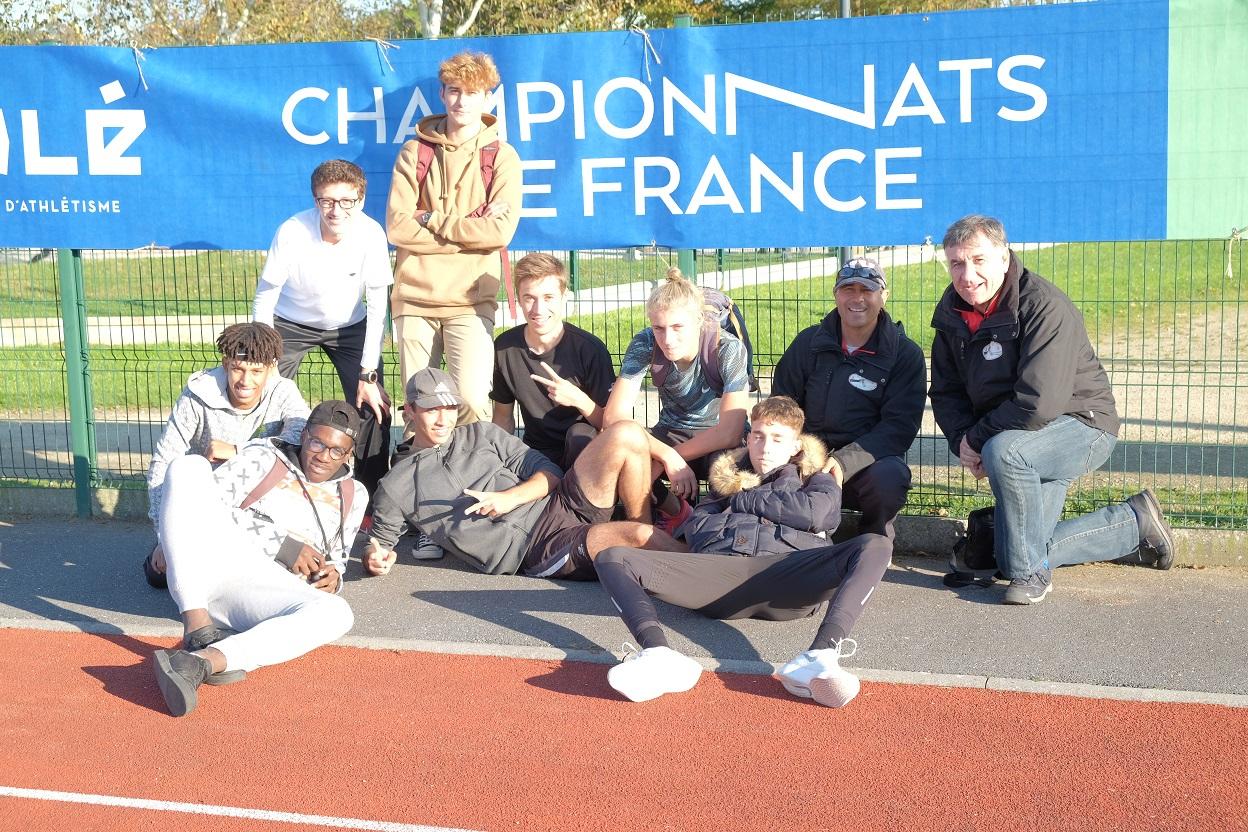 Les Masculins 8e de la Finale Nationale Interclubs Jeunes