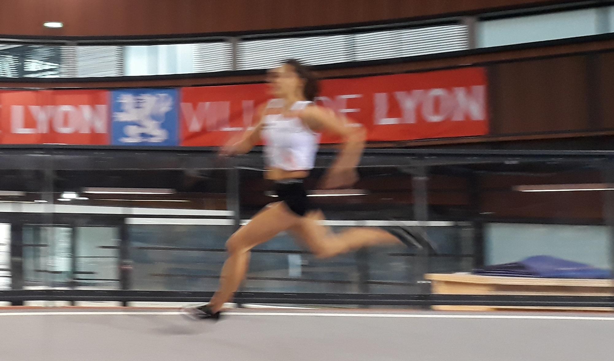 Très grosse performance pour Manon Truc au 100m cet après-midi