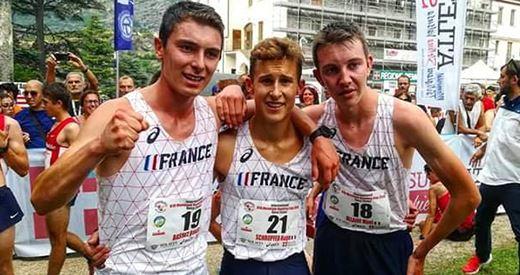 Énorme ! Basile Basset vice-champion de la coupe du monde Cadets de course en montagne