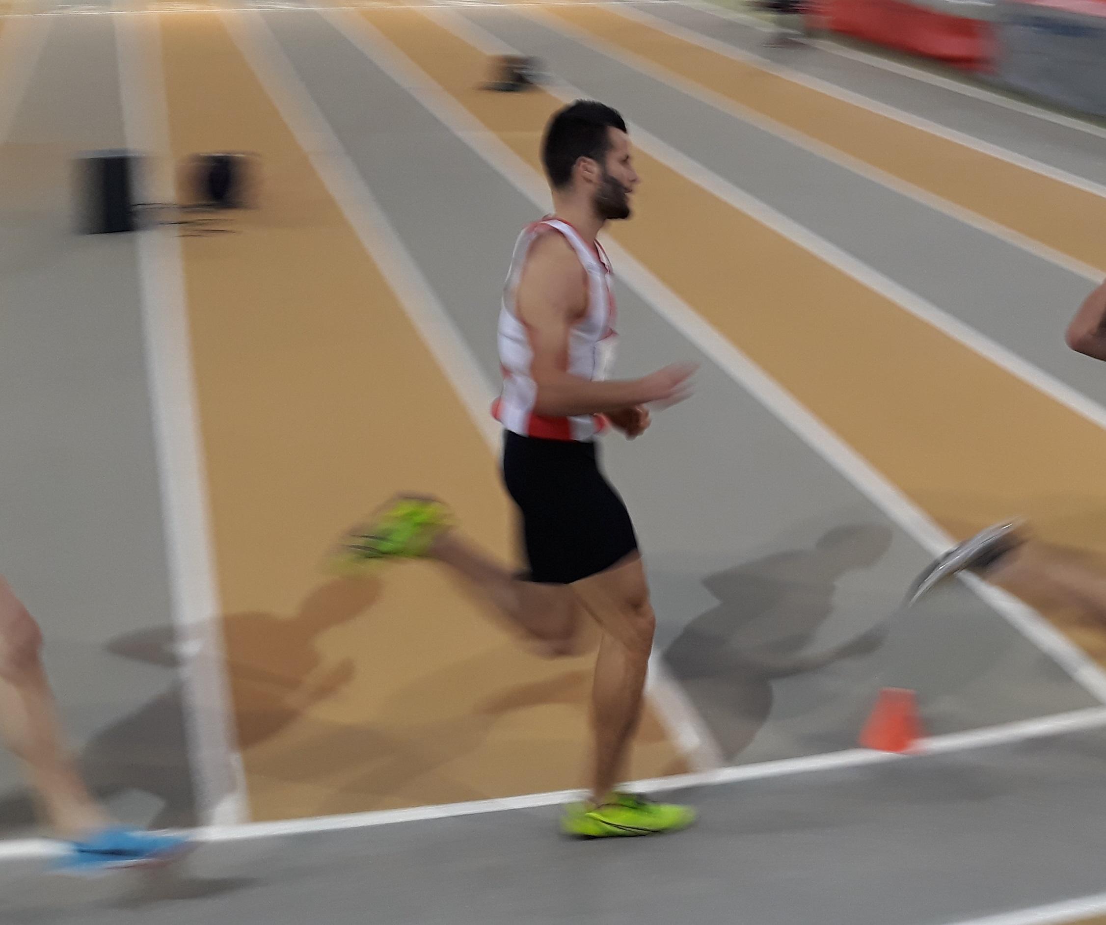 Maxence Bruyas Champion Régional sur 1500m