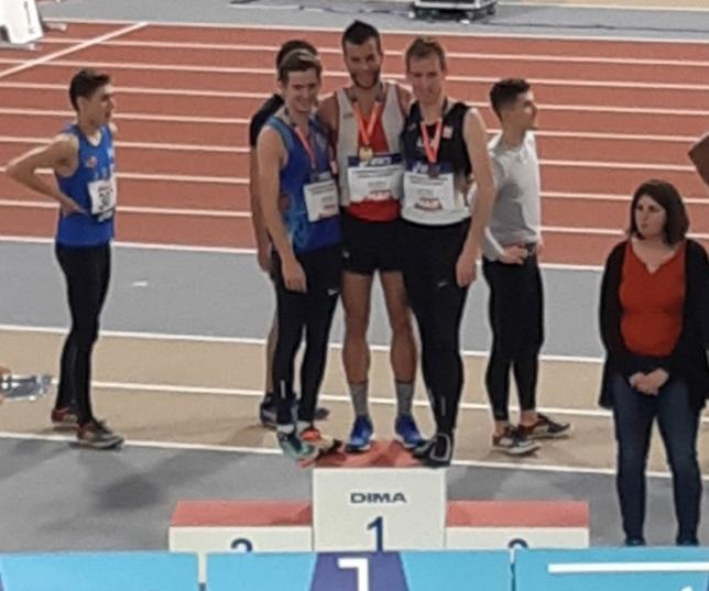 Maxence Bruyas Champion de France National sur 800m