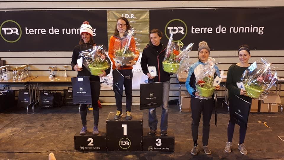 Victoire d'Anaïs Sabrie au Trail Givré et Bon retour pour Renaud Jaillardon 3e