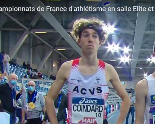 Record du Club Pour Flavien Coindard aux «France» à Miramas