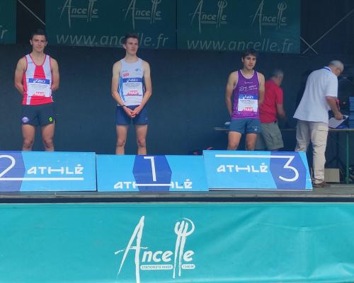 Basile Basset vice-Champion de France de «Montagne»