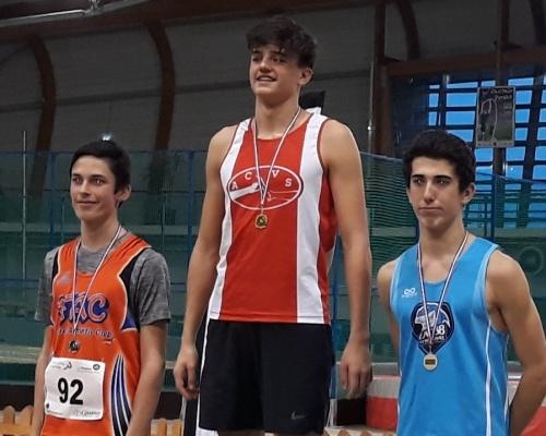 Kentin Gauthier Champion régional d'Épreuves Combinées