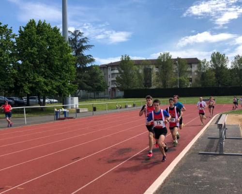 Les Minimes aux Championnats Régionaux de Valence